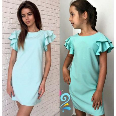 Платье мама дочка Флирт