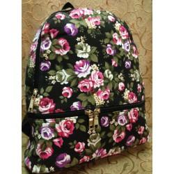Рюкзак цветной лен хит