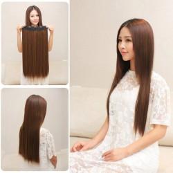 Волосы трессы коричневые
