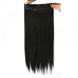 Волосы трессы черные