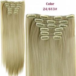 Волосы блонд трессы термостойкие комплект
