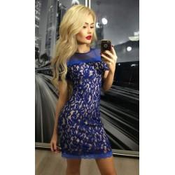 Платье  элитное ажурное