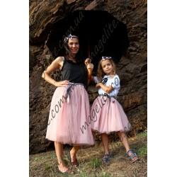 Юбки фатиновые комплект мама и дочь family look