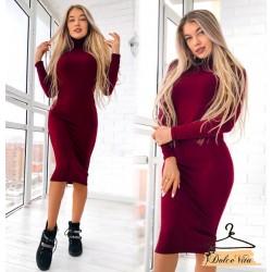 Платье ангоровое футляр миди супер цена