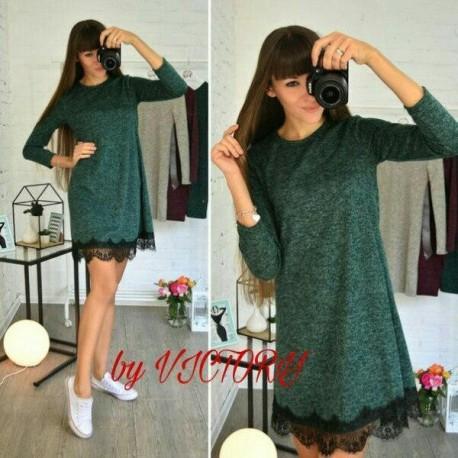 Платье ангоровое Нино