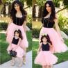 Комплект платьев мама дочка летние