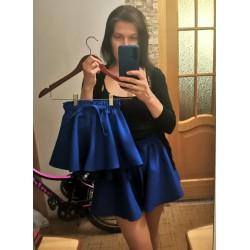 Комплект юбка-шорты