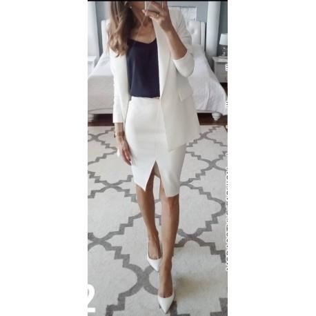 Костюм тройка юбка блузка пиджак