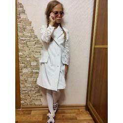 Платье-пиджак мама дочка фемели лук