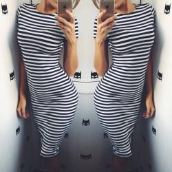 Платье  тельняшка Стелла