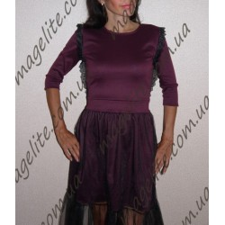 Платье нежность с длинным рукавом