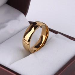 Кольцо обручальное стальное 16